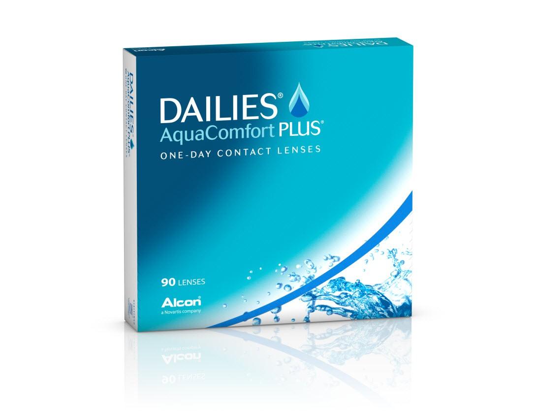 dailies AquaComfortPlus 90